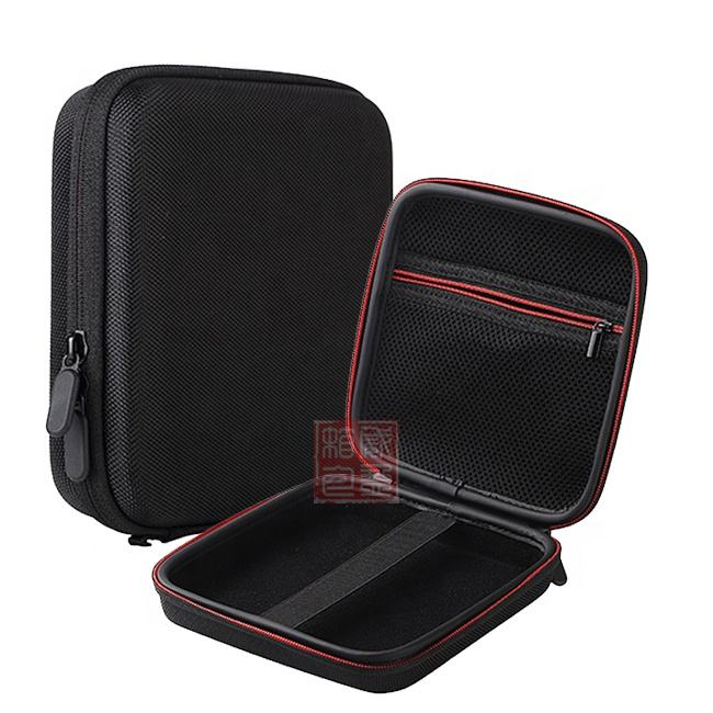 Wholesale Portable Square EVA Foam Hard Shell Travel Carry Storage Protective Multi Purpose Case For Tablet External DVD CD-ROM