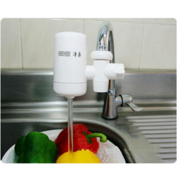 water filter faucet for removing rust, heavy metal ions....