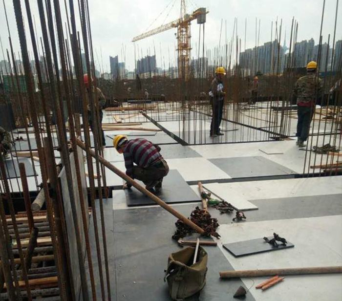 Plastic Coated Plywood Used For Concrete Construction And Building