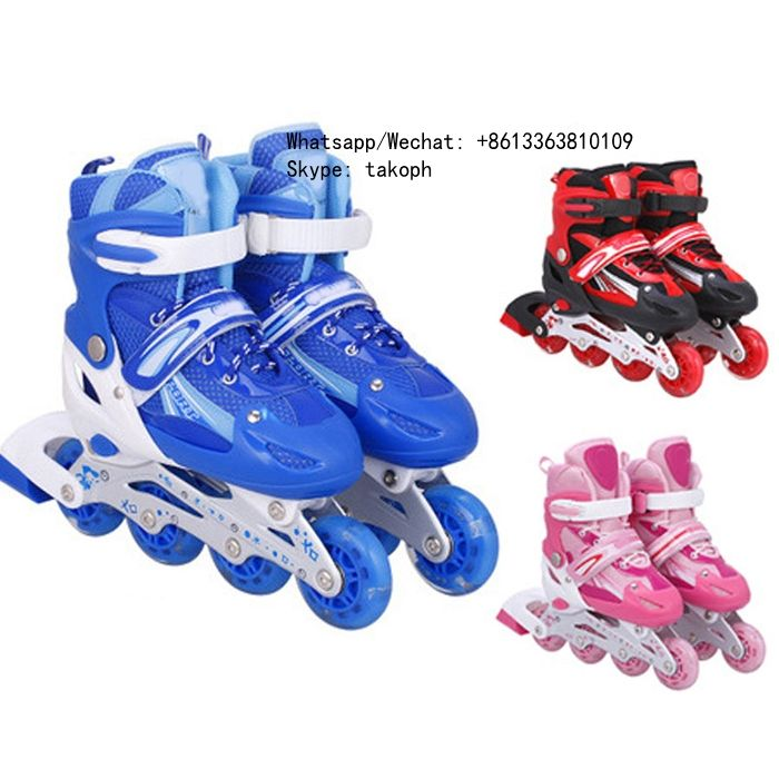 Popular Boys Girl Skate Shoes Adult Adjustable Inline Roller Quad Skates Wholesale for Kids Children