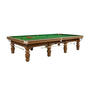 Professional steel cushion snooker pool table solid wood 12ft snooker table