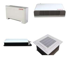 Alkkt Industrial Commercial Water   Refrigerant Horizontal concealed Fan Coil Unit Central Air Conditioner