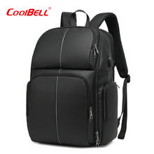 Travel Men 17 Inch Laptop Backpack Waterproof Usb 17 Laptop Backpack Bag