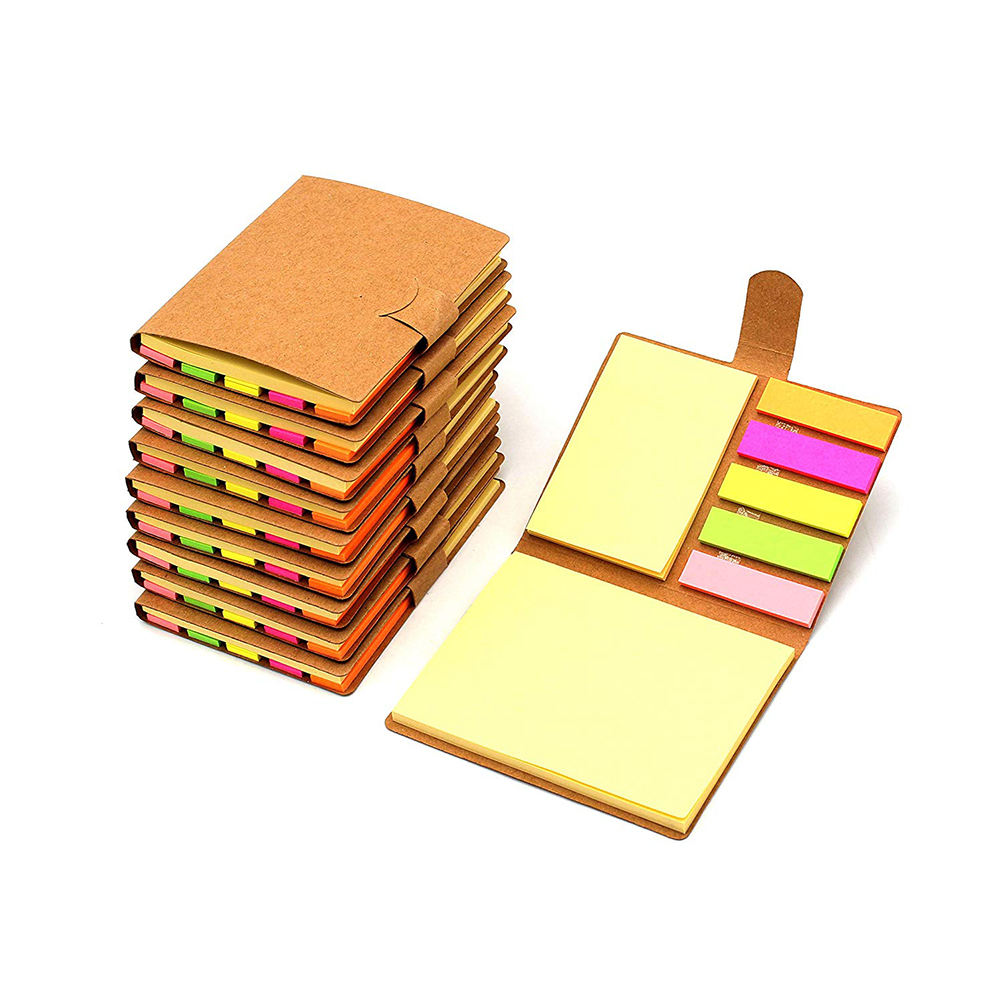 Backing School Skinny Office Yellow Colorful Desktop Square Sticky Notes