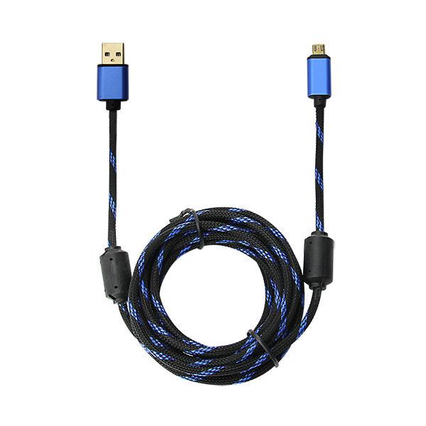 Design de mode Pour PS4/<span class=keywords><strong>XBOX</strong></span> Un Haute Qualité USB Charge Câble <span class=keywords><strong>Or</strong></span> Un 3 M Made In China