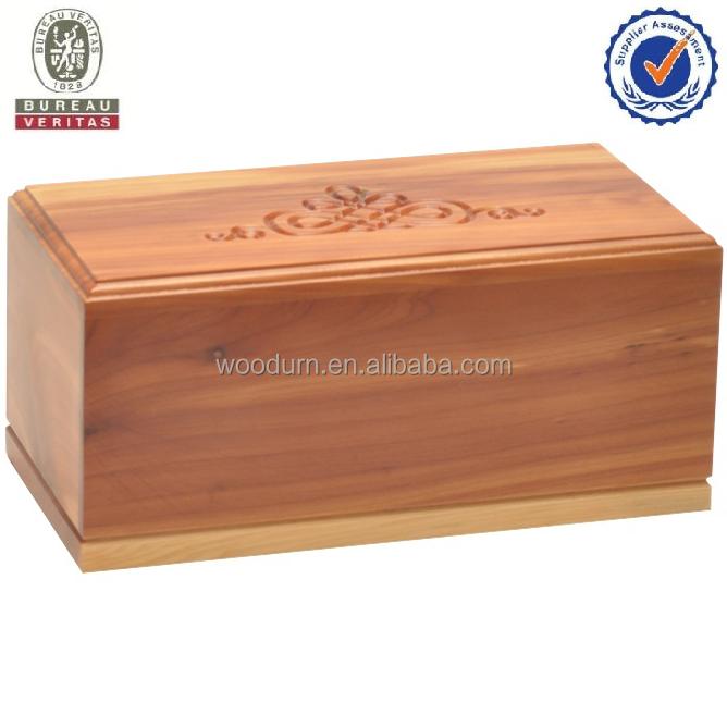 MKY fábrica Animal cremación caja urna madera de <span class=keywords><strong>cedro</strong></span>