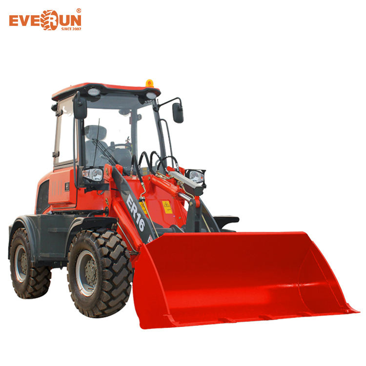 Everun ER16 1.6 Ton Compact Wheel Loader With Euro3 Engine