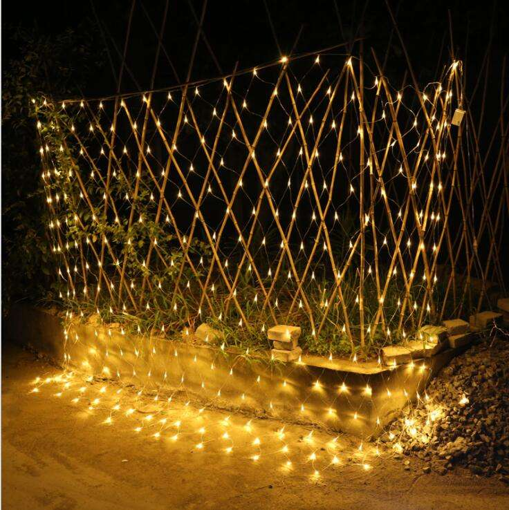 Hot sale customizable led twinkle fishing festival net light