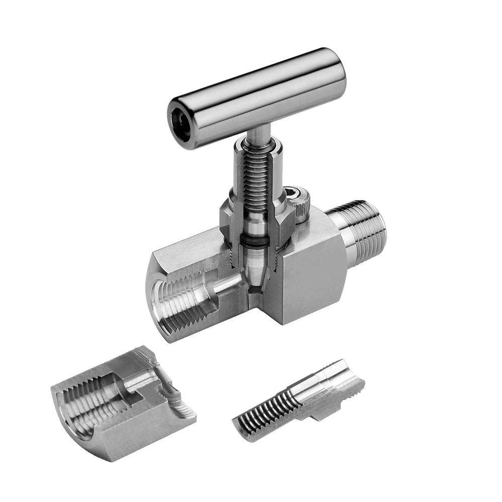 1/2 NPT Female Thread SS316L 10000PSI Oil and Gas Stainless Steel Needle Valve
