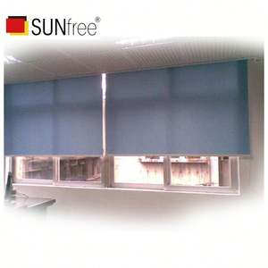 Cordless Roller Shades 100% Blackout Lento Aumento Caricato A Molla Sistema di Tende Per Windows
