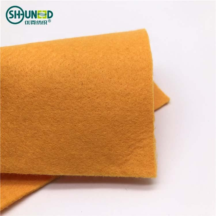 100% viscose rayon polyester punch needle nonwoven fabric nonwoven felt for cleaning wipes nonwoven fabric