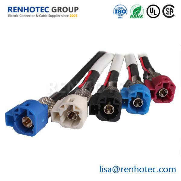 USA-CA RG188  F MALE to SMB MALE Coaxial RF Pigtail Cable