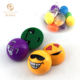Innovative semicircle mini plastic egg package emotion pull back toy cars