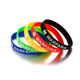 High quality wholesale medical silicone id bracelet