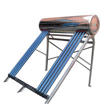 Modern integrated heater hot pipe pressurized 360l solar water heater best quality heat pipe solar hot water heaters