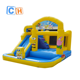 Popular Inflatable bouncer pool, Design Bouncy House Jumping wet Bouncer ,Jumping castle for summer