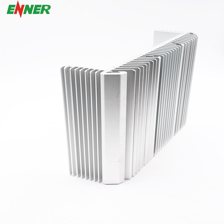 China OEM Power Supply Aluminium Heatsink 300 Mm Ekstrusi Air Colling