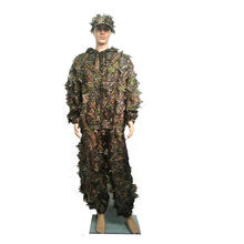 Woodland Kids Camo Custom Gilly Suite Gilli Hunting Sniper Military Camouflage Leaf Ghillie Suit