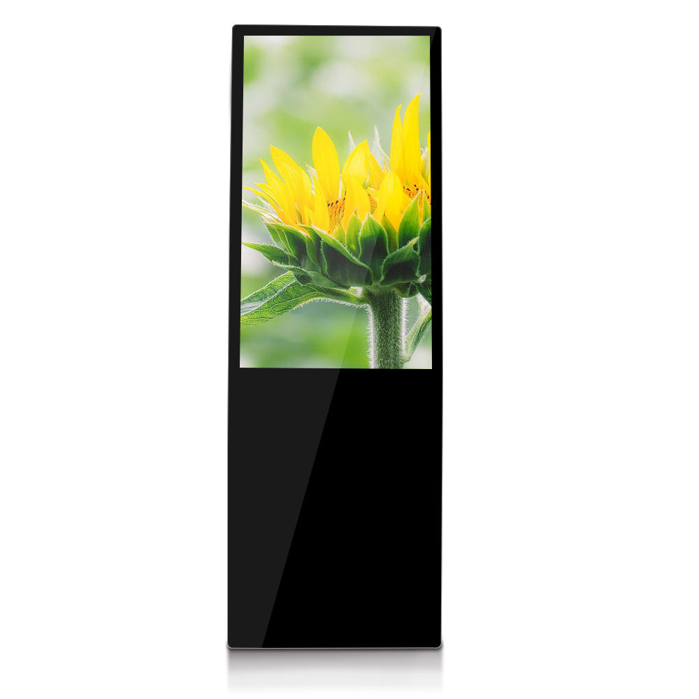 55inch lcd digital signage with wifi and touch function build in android media player for content management