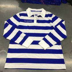 Long sleeve cotton rugby jumper cotton football jerseys
