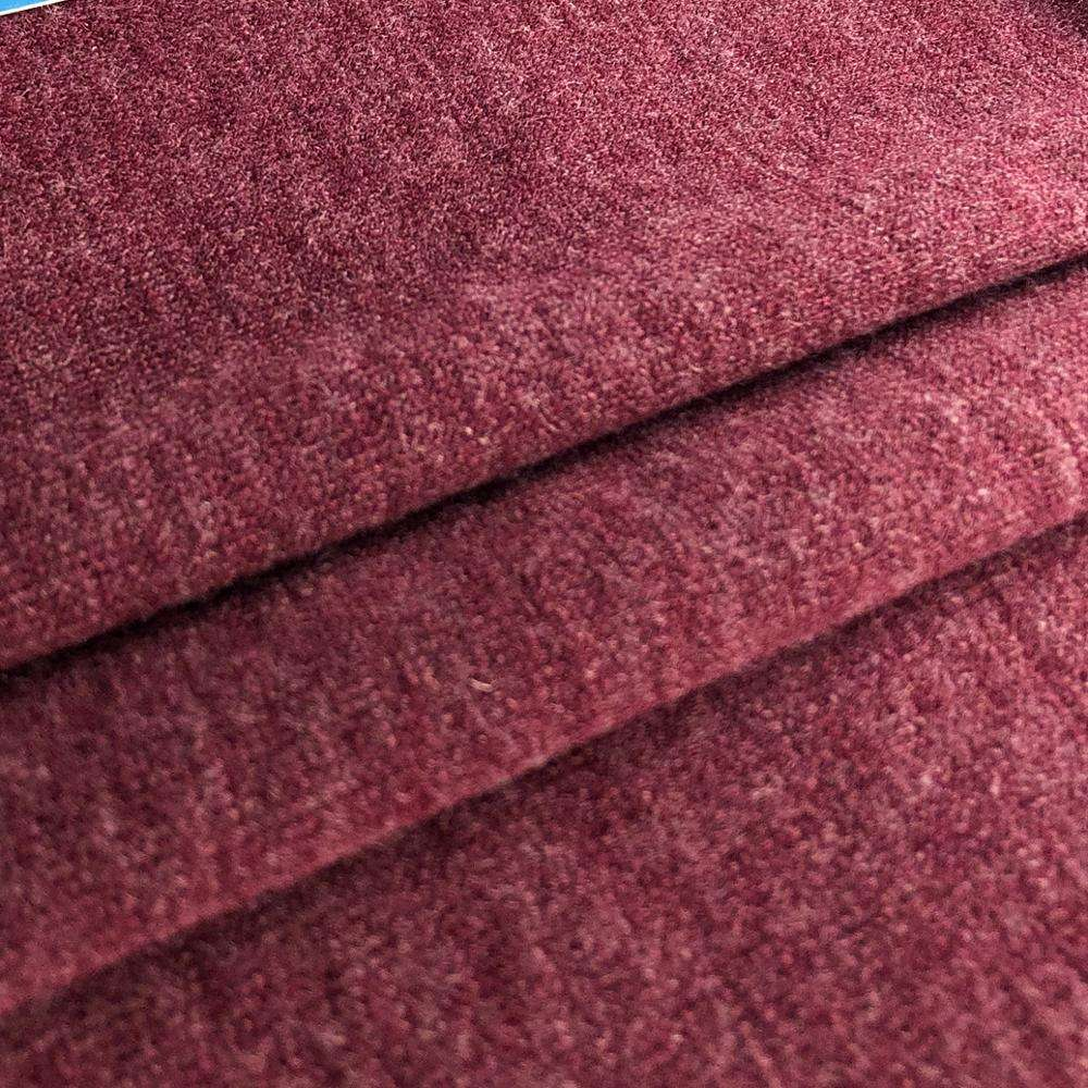 Chinese textile T/R hacci plain dyed 78% polyester 18% rayon 4% spandex knitting fabric for sweater