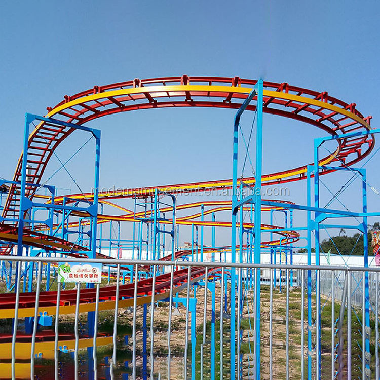 high quality mini roller coaster crazy mouse ride manufacturer