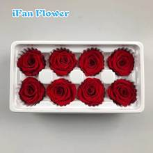 Wedding decoration  gift box making  materials  preserved rose head