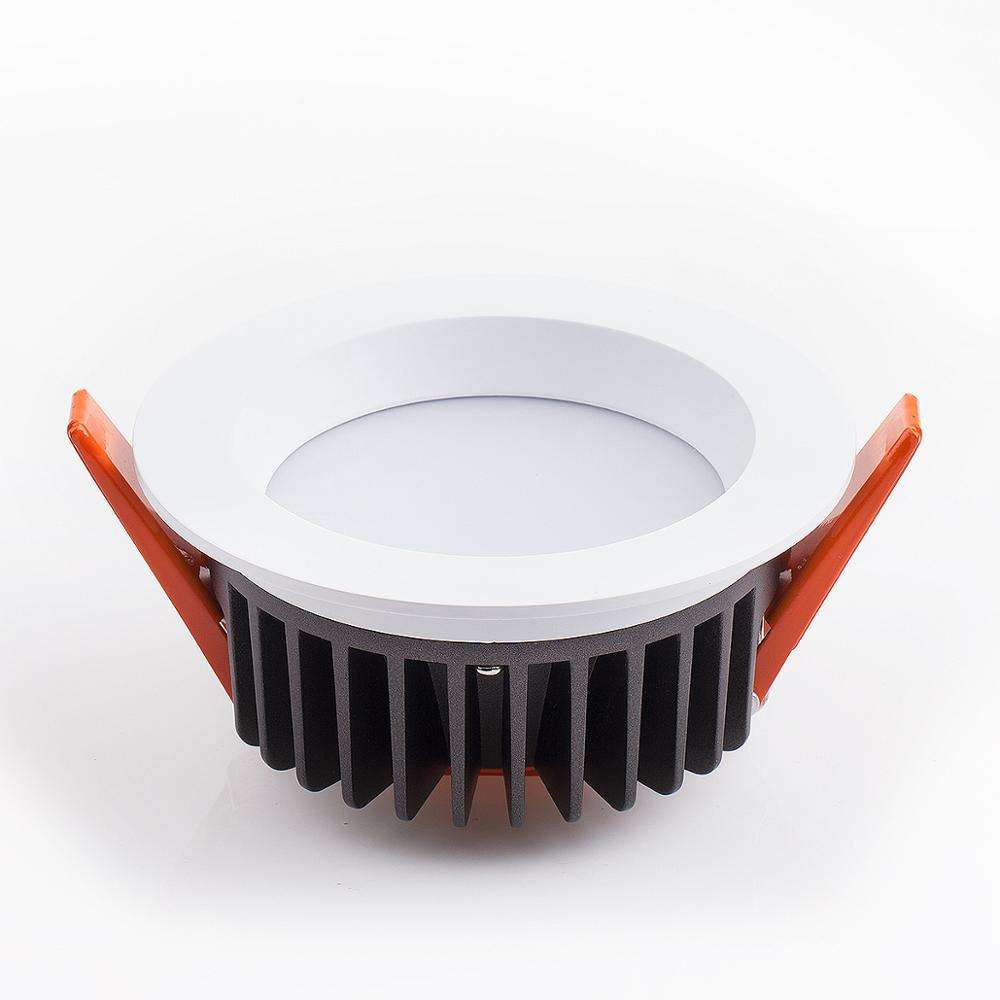주조 알루미늄 12W 15W 18W 20W 35W 45W recessed dimmable SMD 통 컷 아웃 95mm 125mm 165mm 200mm
