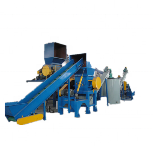 Plastic fles recycling machine