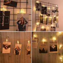 Professional Bulb Led Light Wedding/Holiday/Party  Light Decor String Wedding Decoration LED Photo Clip String Lights
