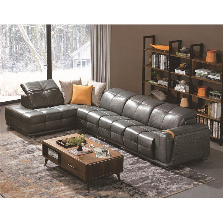 Good Quality 5 Seater Sofa, Floor Sofa Lounge, Cheap l Shape Sofa