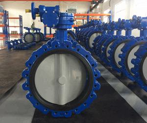 Professional Valve Businessmen Produce Pneumatic Air Pipe Lug Butterfly Valves
