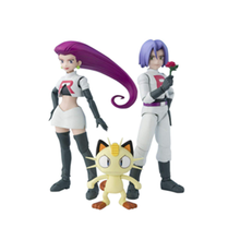 making custom Figuarts Pokemon Rocket Group about ABS & PVC painted action figure