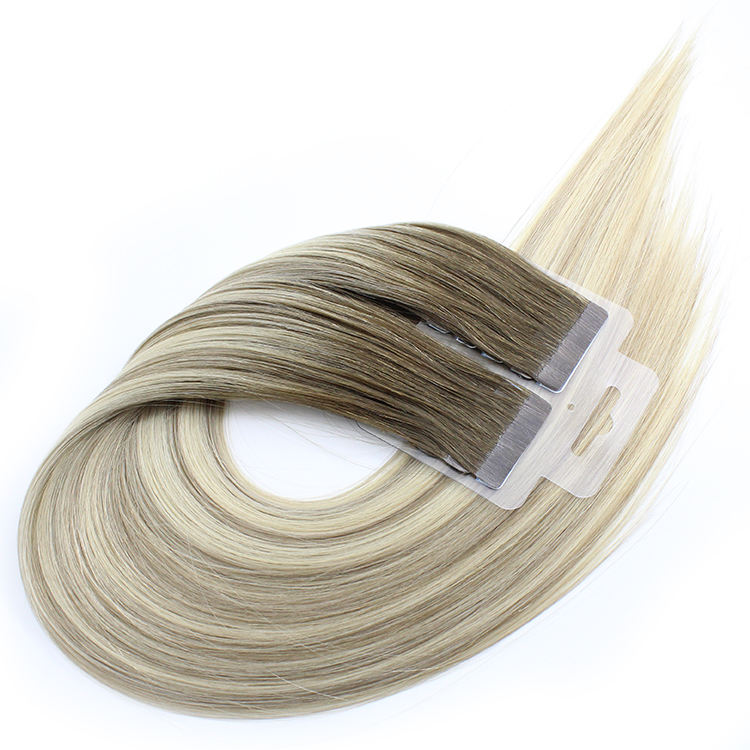 Extensions de cheveux 100 naturels Remy — doreen, queue de cheval, Double Drawn, Extensions à bande