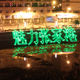 LOGO projection 20W outdoor stage laser lighting