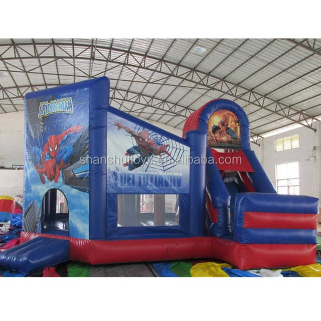 High Quality PVC bouncy castle,outdoor cartoon inflatable jumping castle for kids