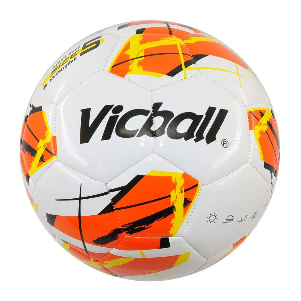 soccer ball custom print pu pvc colorful machine stitched foam football soccer balls size 5