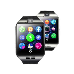 Stepfly Q18 bluetooth smartwatch With Camera Facebook Whatsapp Twitter Sync SMS Smart Watch Support SIM TF Card For IOS Android