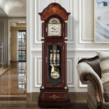 Solid Wood German Hermle Mechanical Movement Floor grandfather Clock