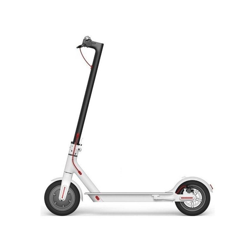 In Bianco E nero 250 W Batterie Al Litio 36 Volt Scooter Elettrico