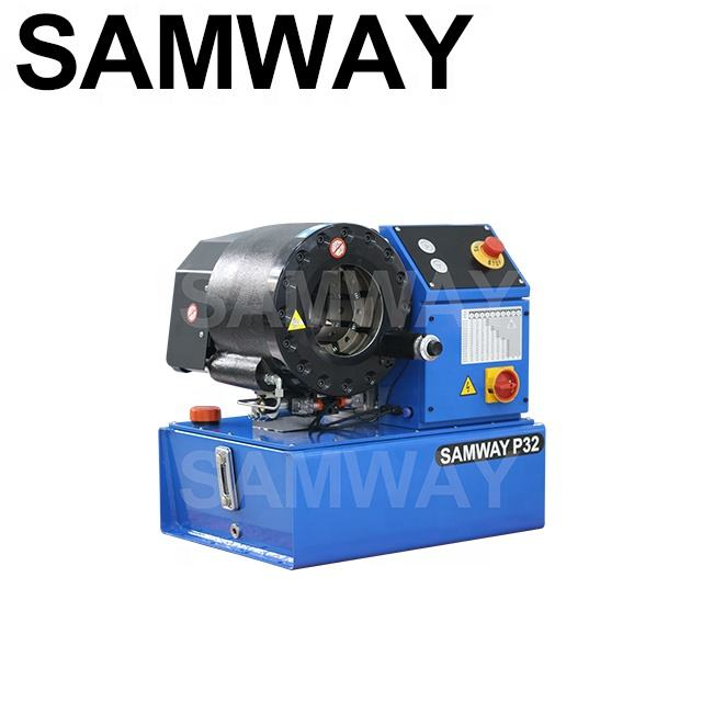 "Samway finn power hydraulic pipe crimping machine up to 2"" Finnpower P32"