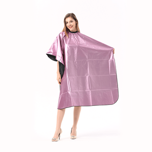 Salon haar polyester coating shampoo cape