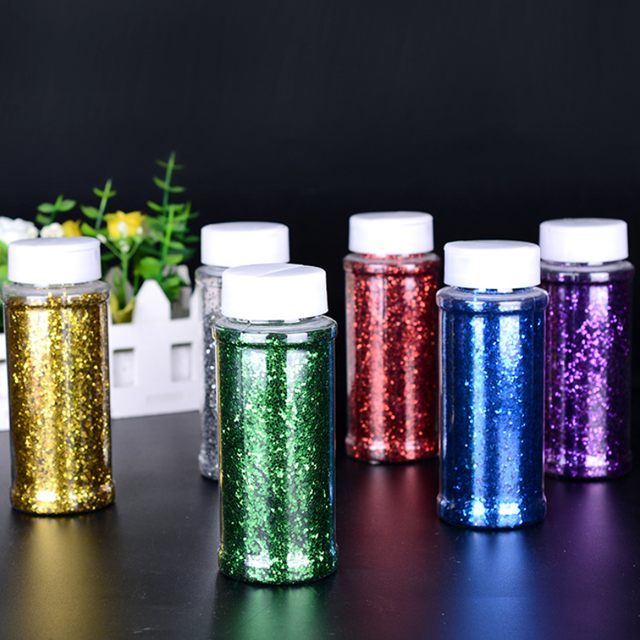 1.5 once e 5 oz piazza shakers poliestere glitter