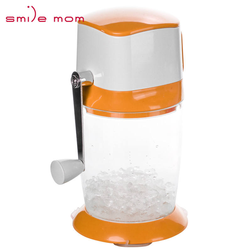 Smile Mom Plastic Home Use Manual Ice Crusher