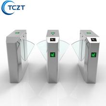 automatic security flap barrier turnstile gate