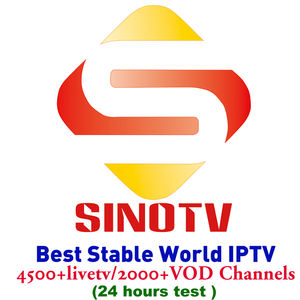 High Quality IPTV Account 6000+ Live 2000 VOD Sinotv with European Sansat IPTV Channels USA Latinos Arabic Reseller Panel IPTV