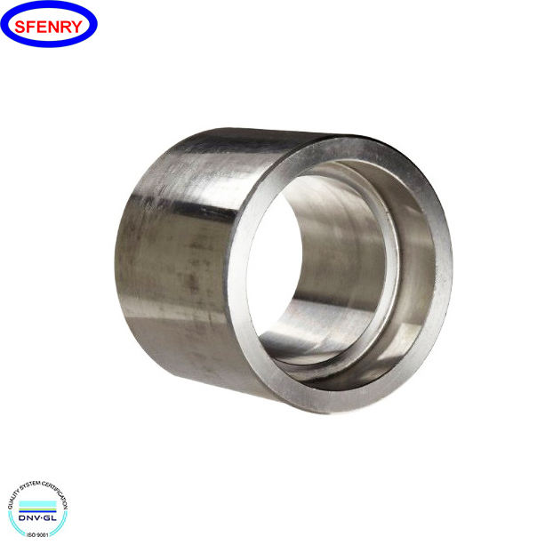 Sfenry Forged Carbon Steel A105 Socket Weld 3000 LB Pipe Fittings Half Coupling
