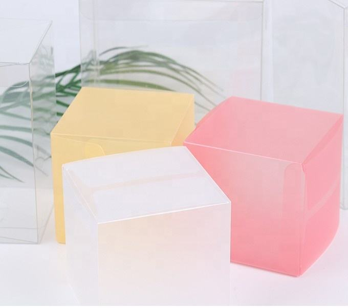Custom disposable plastic box pvc for candy, small Transparent PVC gift box Packaging, toys cosmetic pvc box
