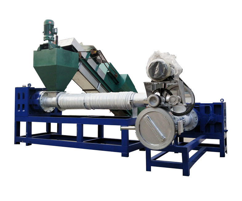 PP/PE film granulating machine/HDPE LDPE recycling pelletizing line/waste plastic granules making machine price