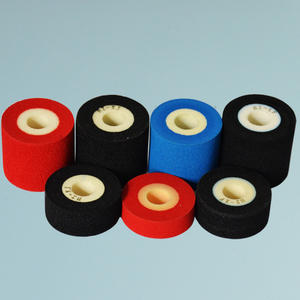 Dia 36mm hot solid ink transfer foil for printing expiry date and batch number on MY-380 machine